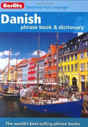 Danish Phrase Book 3rd edition by Berlitz (2008) Paperback