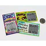 """Pregnancy Announcement Scratch Off Pregnancy Reveal Fake Lottery Scratcher Lotto Replica Card, Each Ticket is a Winner Revealing """"Winner! We're Expecting""""! 5 tickets My Scratch Offs"""