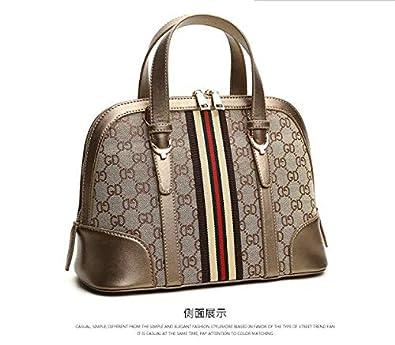 3a7a249b904e Vintage Printing Top Handle Bag For Women European Style Shoulder Bag  Canvas Shell Crossbody Bag
