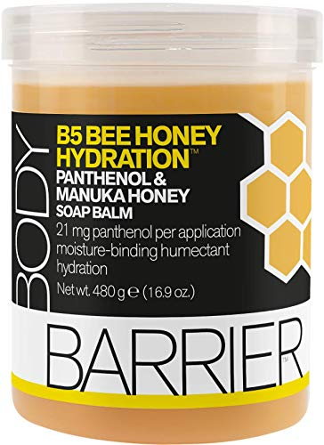 (Body Barrier B5 Bee Honey Hydration Panthenol & Manuka Honey Soap Balm, 16.9)