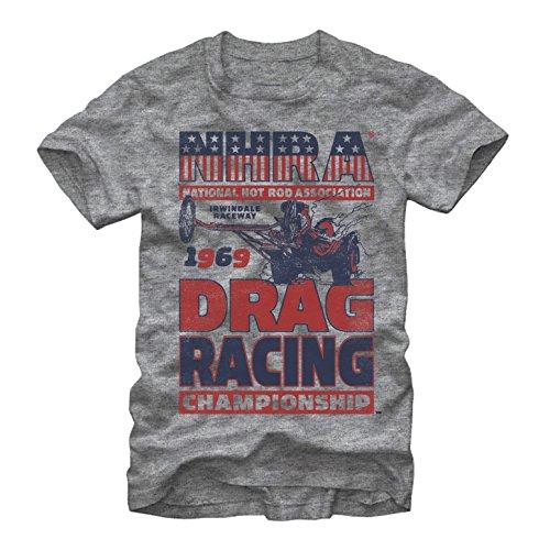 NHRA Drag Racing Championship Mens XL Graphic T Shirt - Fifth Sun