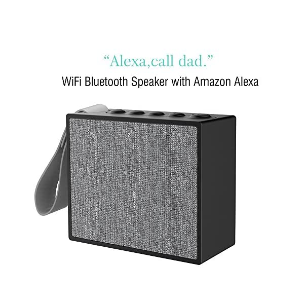 Portable-WiFi-Bluetooth-Smart-Speaker-with-Enhanced-Bass-Sound-Support-Amazon-Alexa-Spotify-Online-Music-Voice-Control-and-Hands-Free-Call-