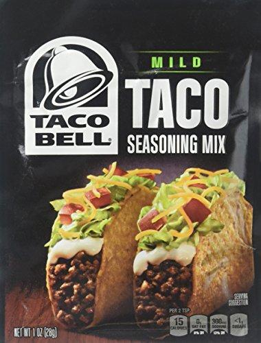 Taco Bell Taco Seasoning - Mild - 1 Ounces