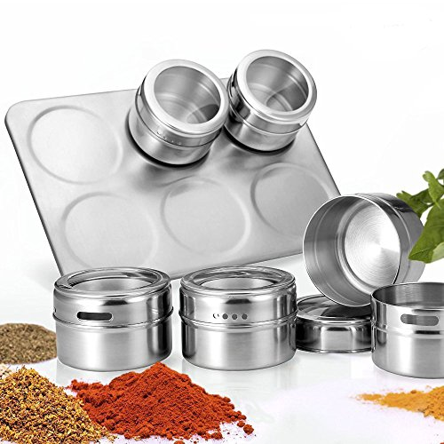 Magnetic Spice Rack, YTAT Multi-Purpose Stainless Steel Spic