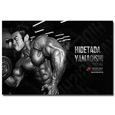 "Twenty-three Bodybuilding Fitness Motivational Quotes Silk Poster 24X36"" Gym Decor 006"