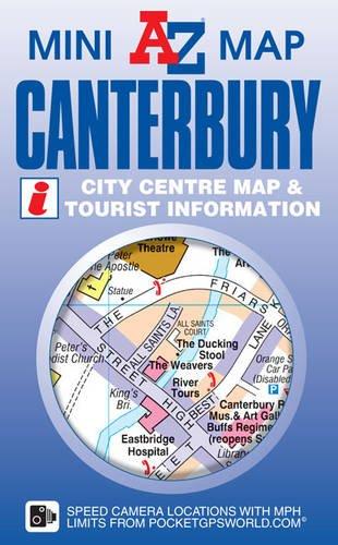 Canterbury Mini Map (A-Z Mini Map) PDF