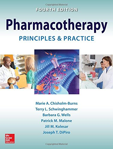 Pharmacotherapy Principles and Practice, 4th Edition Front Cover
