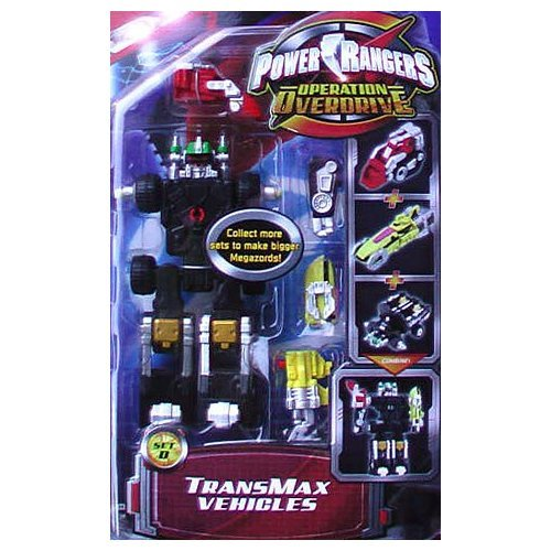 Power Ranger Operation Overdrive - TransMax Vehicle & Figure Set D