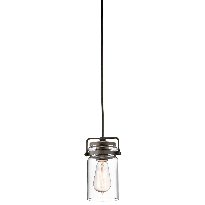 Kichler 42878oz one light mini pendant amazon aloadofball Gallery