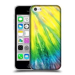 Super Galaxy Coque de Protection TPU Silicone Case pour // V00001903 Patrón del tinte del lazo // Apple iPhone 5C