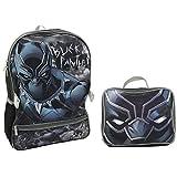 Marvel Avengers Black Panther Backpack & Lunch Bag Set
