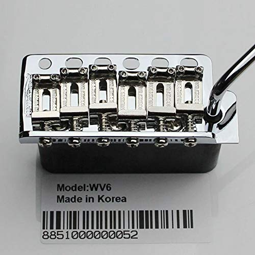 (Korea ST Guitar Wilkinson WV6 Tremolo Bridge + Bent Steel Saddles (Additional gift)