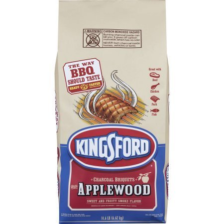 Kingsford Original Charcoal Briquettes with Applewood, 14.6 lbs, 1 Count