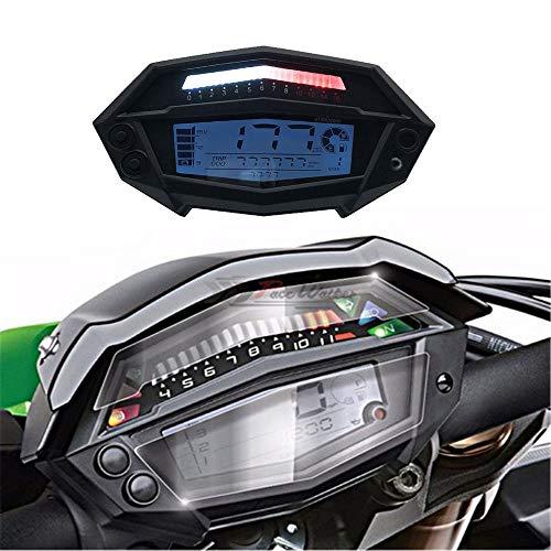CHUDAN Z1000 Speedometer Gear LCD Instrument Motorcycle Digital Odometer Motorcycle backlit speedometer: Amazon.co.uk: Sports & Outdoors