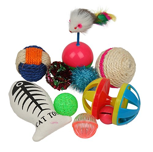 Fashion's Talk Cat toys Variety Pack for Kitty 20 pieces ...