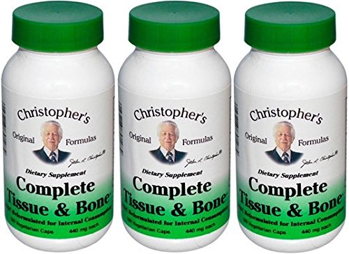 - Dr. Christopher's Complete Tissue and Bone Formula 100 VegCap (pack of 3)