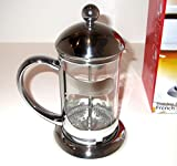 Uniware Stainless Steel French Coffee Press, Silver (1000ml (4.2 Cups))