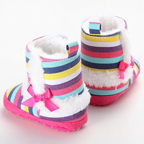 leap frog  Snow Boots,  Baby Mädchen Schneestiefel Regenbogenfarben