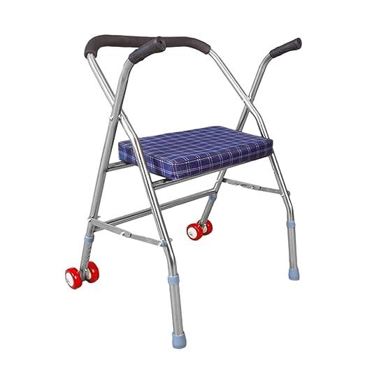 Andadores para discapacidad Andador para Ancianos Acero Inoxidable ...