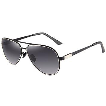 Gafas Gafas de sol anti-UV de la caja grande ligera polarizada HD