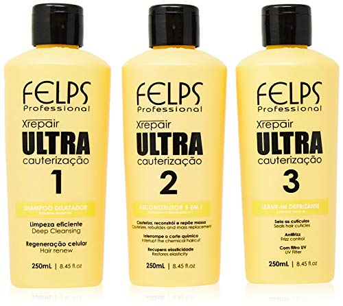 Xrepair Ultra Cauterização Kit, Felps, 3 x 250 ml