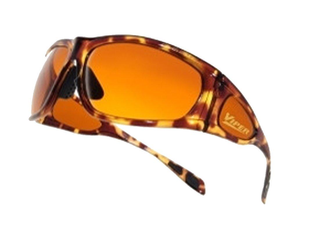 dcf26b7fede BluBlocker Viper Wraparound Sunglasses - Demi Tortoise  Amazon.co.uk   Sports   Outdoors