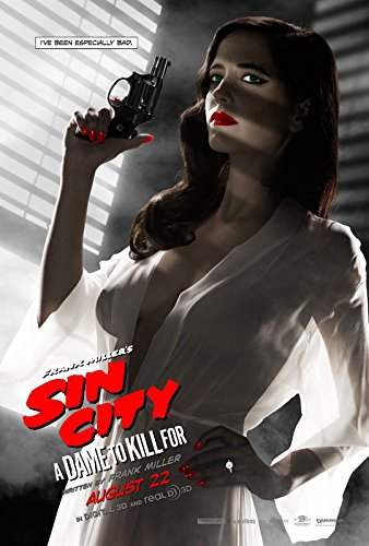 SIN CITY- A DAME TO KILL FOR Movie Poster Comic Book BANNED