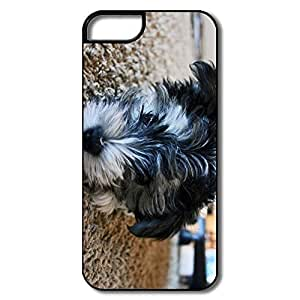 IPhone 5/5S Covers, Wet Dog Cases For IPhone 5 5S - White/black Hard Plastic