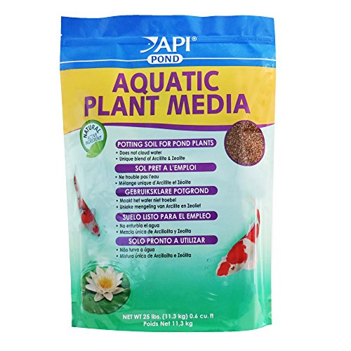Api Pond Aquatic Plant Media Potting Soil For Pond Plants  25-Pound ()