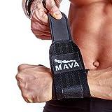 Mava Sports Wrist Wraps, 14″, Black Review