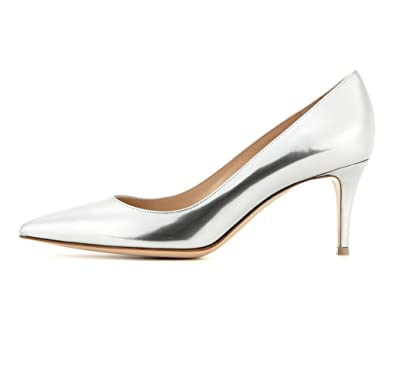 Chaussures à kitten heel à bout pointu femme MRrdP2VA