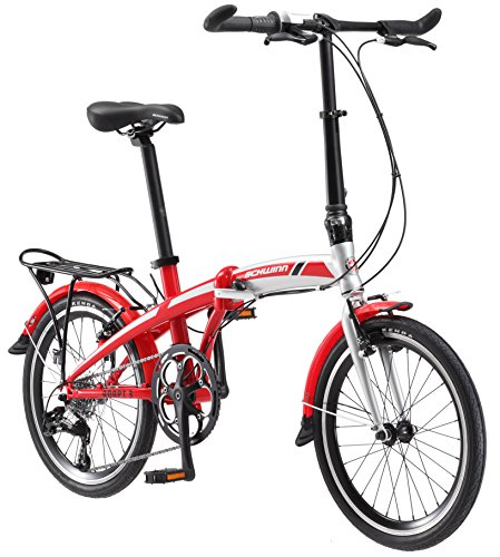 Lowest Price! Schwinn Adapt 3 9-Speed Folding Bike, 20 Wheels