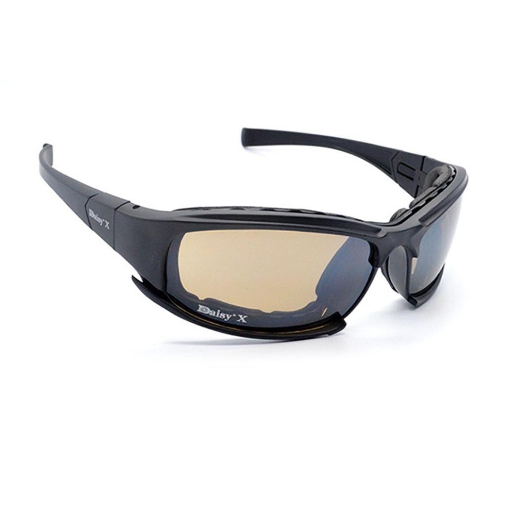 Amazon.com: Chartsea - Gafas de sol militares para hombre, 4 ...