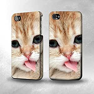 Apple iPhone 5 / 5S Case - The Best 3D Full Wrap iPhone Case - Cat Kitty