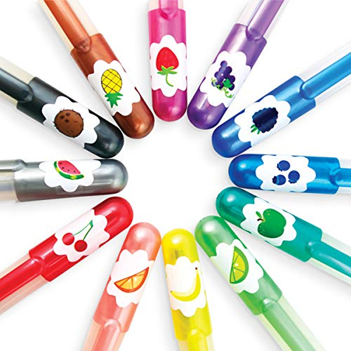 OOLY, Yummy Yummy Scented Glitter Gel Pens (132-14), Set of 12