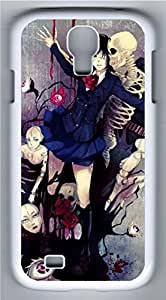 Samsung Galaxy S4 Case Customized Unique Dance With Skulls Cover For Samsung Galaxy S4 I9500 by icecream design