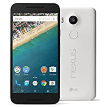 Unlocked LG Nexus 5X LG-H790 (North America) Smartphone - White Color 32GB (U.S. Warranty)