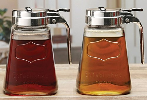 Circleware Yorkshire Mason Syrup Dispensers product image