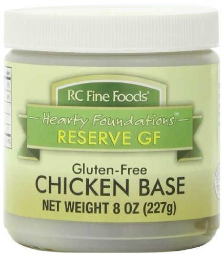 RC Fine Foods Hearty Foundations Reserve Gluten Free Soup Base, Chicken, 8 Ounce