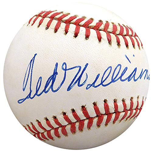 Ted Williams Autographed Official AL Baseball Boston Red Sox Beckett BAS #A60628