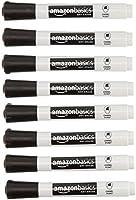 AmazonBasics Marcadores de borrado en seco, punta de cincel, bajo olor