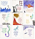 Children`s Literature Inspirational Quote Nine Poster Set for Home, Classroom or Library