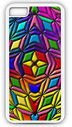Will Gods Tile (iPhone 8 Plus 8+ Case Tile Background Structure Texture Design Customizable by TYD Designs in White Plastic Black Rubber Tough Case)