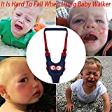 Baby Walker, Adjustable Baby Walking Harness Safety Harnesses, Pulling and Lifting Dual Use 7-24 Month Breathable Stand Up & Walking Learning Helper for Infant Child Activity Walker
