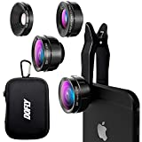 DOFLY Universal Professional HD Camera Lens Kit for iPhone 7Plus/7/6sPlus/6s, Samsung S8+/S8