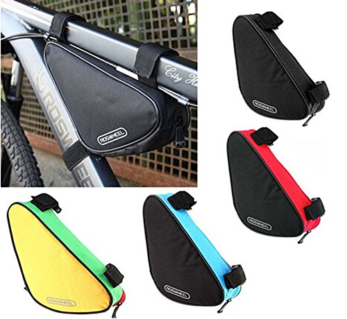 BicycleStore Waterproof Triangle Bike Bicycle Frame Front Tube Pouch Bag Outdoor Sports 1.5L