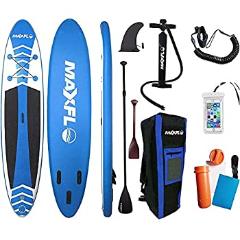 MaxFLO Inflatable Stand Up Paddle Board