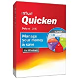 Quicken Deluxe Personal Finance & Budgeting Software 2015 [Download]
