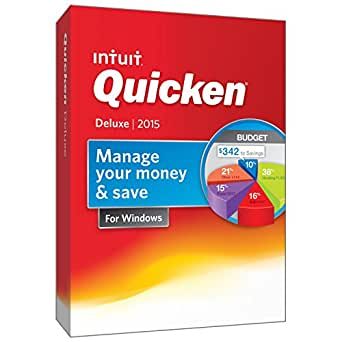 Quicken Deluxe Personal Finance & Budgeting Software 2015