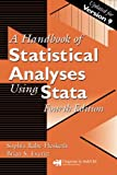 A Handbook of Statistical Analyses Using Stata 9781584887560